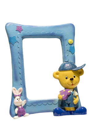 series object on white: isolated -for children Photoframe photo