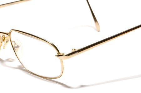 series object on white: isolated - glasses photo