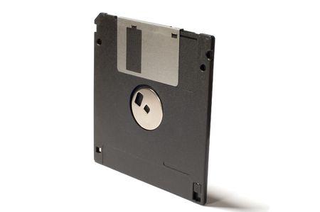floppy disk: series object on white: isolated - floppy disk