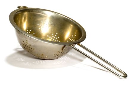 series object on white: - Big colander Stock Photo - 756946