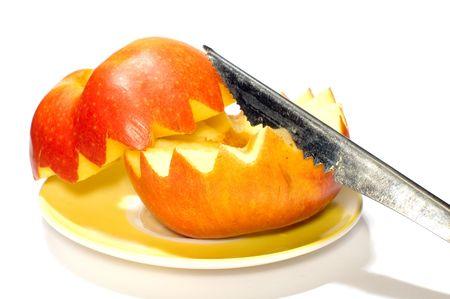 series: object on white: fruit apple Stock Photo - 963265