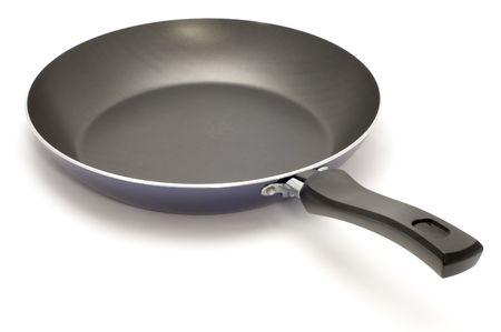 series object on white - kitchen utensil -frying pan