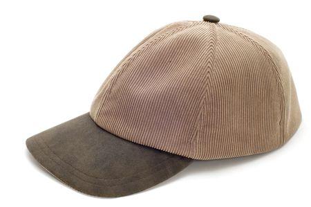 series object on white -  head-dress cap