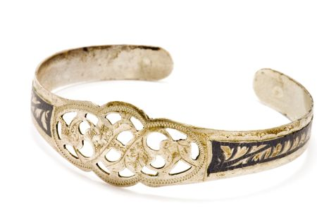 antiquarian: series object on white - antiquarian bracelet