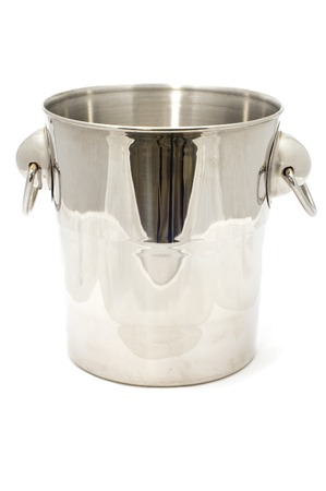 series object on white kitchen utensil bucket for ice