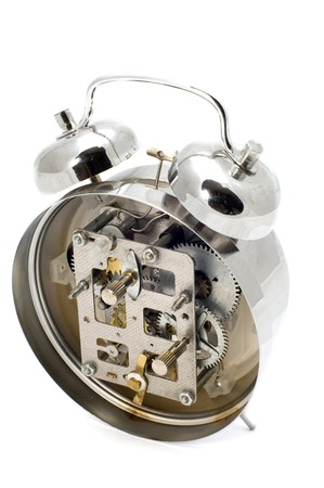 peal: series object on white: in side clock