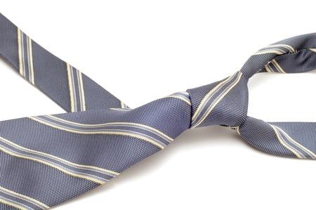 series object on white - fashion - Grey tie photo