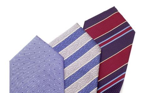 series object on white - fashion -  tie Stock Photo - 1446823