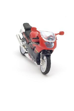original bike: series object on white - model motorcycle