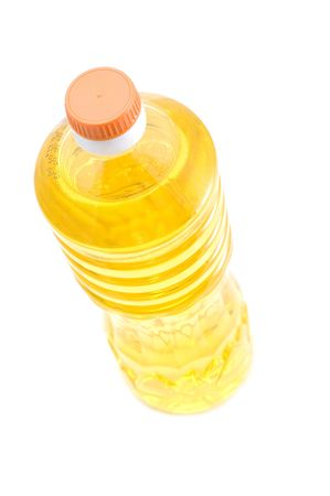 object on white - food -corn oil photo