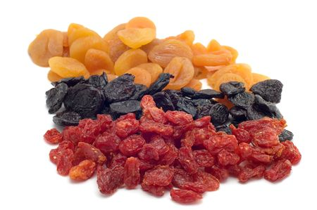 object on white food dried fruits Stock Photo - 2506205