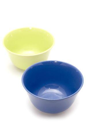 alimony: series object on white - kitchen utensil - dish Stock Photo