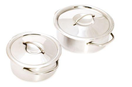 object on white - kitchen utensil pan Stock Photo - 3393624