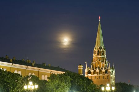 Russia. Moscow Kremlin Tower with star photo