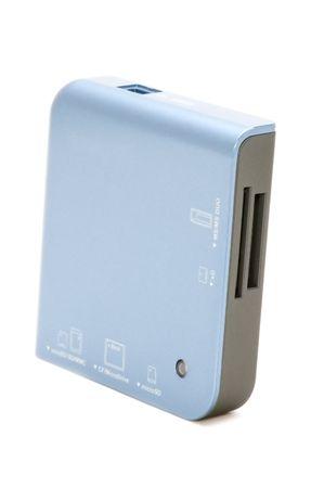 gigabytes: object on white - card reader
