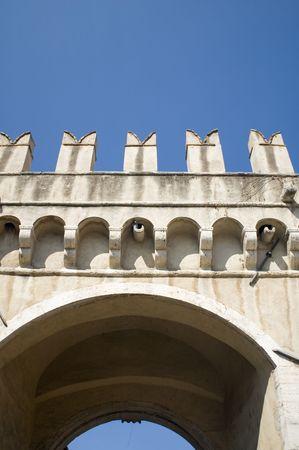 foot bridge: Italy - Older foot bridge in Rome
