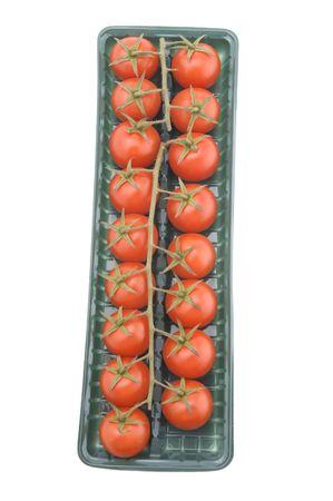 object on white - food tomato macro Stock Photo - 3991962