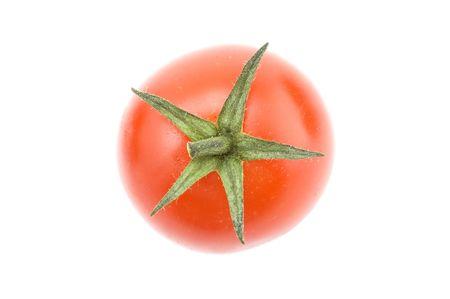object on white - food tomato macro Stock Photo - 3991948