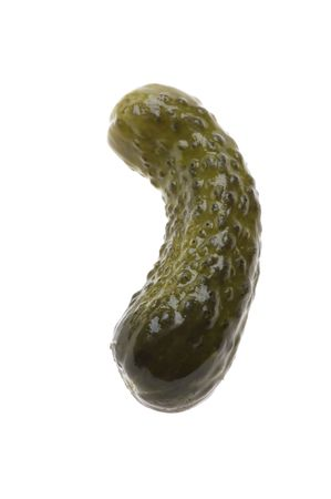 marinade: object on white - food cucumber in marinade