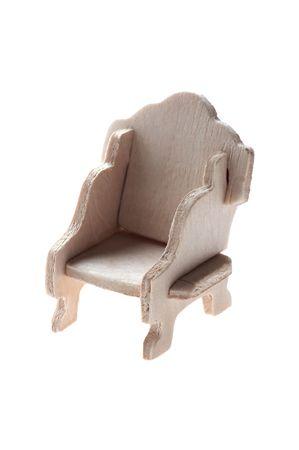object on white Miniature Rocking Chair macro Stock Photo - 6100949