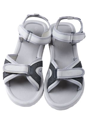 object on white - flip flops close up Stock Photo - 8035952