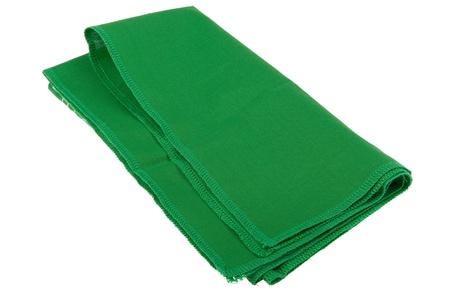 object on white - napkin close up Stock Photo