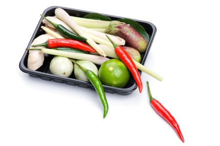 object on white - Vegetable Basket in box Stock Photo - 8897767