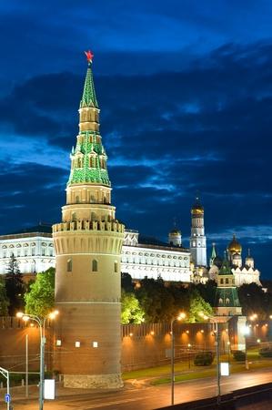 kremlin: Rusland het Kremlin van Moskou in de ochtend Stockfoto