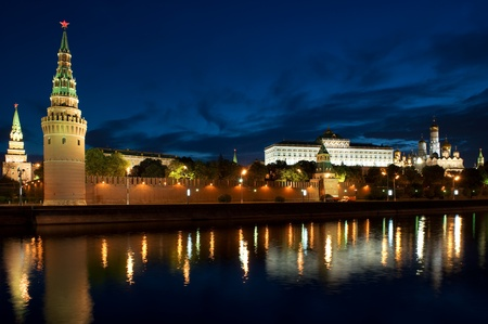 Russia The Moscow Kremlin in the morning Stock Photo - 9898696