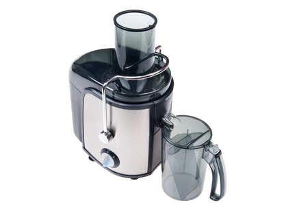 object on white - juice extractor close up Stock Photo