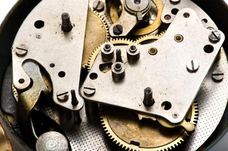 tool metal equipment - clockwork close up photo