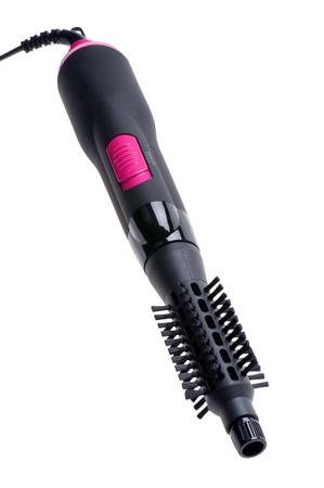 styler: object on white - tool Hair dryer