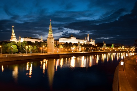 Russia The Moscow Kremlin in the morning photo