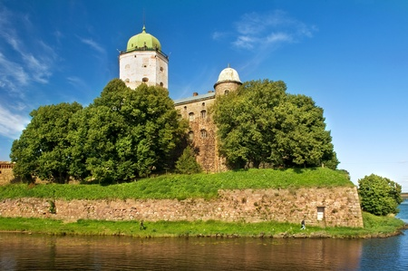St Olaf old castle in Vyborg city