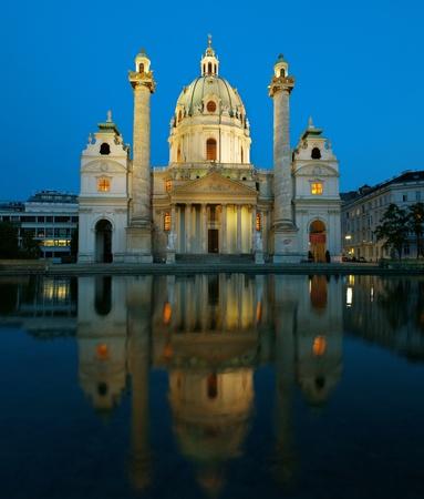 st charles: Cattedrale di San Carlo a Vienna, Austria