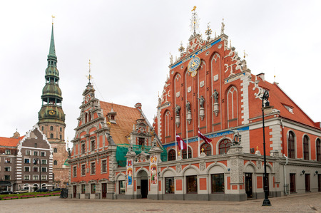 the house of worship: House of the Blackheads in Riga, Latvia