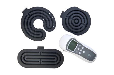 stimulator: isolated object on white -  electro stimulator Stock Photo