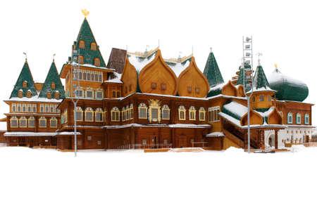 tsar: Kolomna. The wooden palace of Tsar Alexei Mikhailovich Stock Photo
