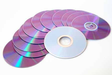 compact discs Stock Photo - 438488