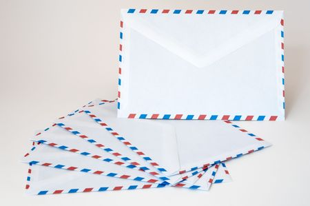 emitter: letters to send to the postal service of post office