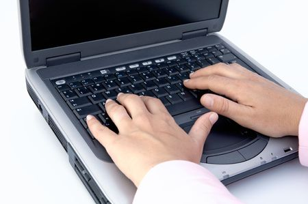 computer instruction: it is the photo of a portable computer that can be used for different things