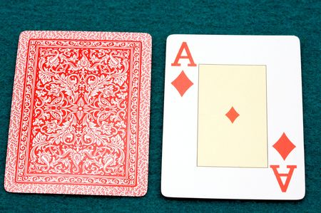 Cartas de poker  Foto de archivo - 438588