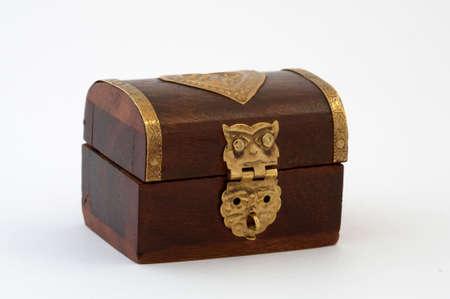 casket: it is a closed wood coffer