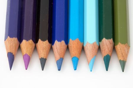 they are paintings of different colors Stock Photo - 446071
