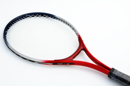 it is a racket of tennis Stock Photo - 458598