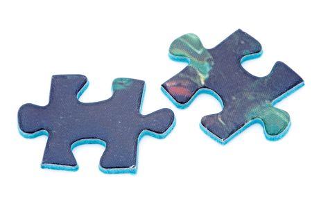pieces of puzzle photo