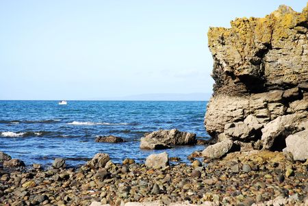 pepples: seaside Stock Photo