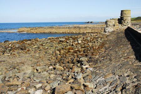 pepples: rocky shoreline