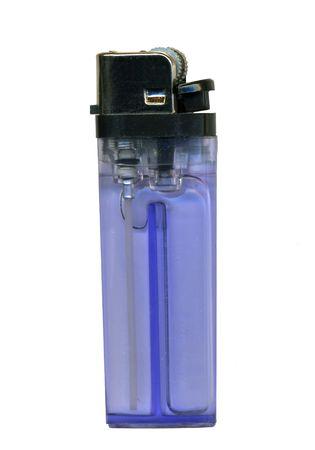 lighter gas: Encendedor de gas Foto de archivo