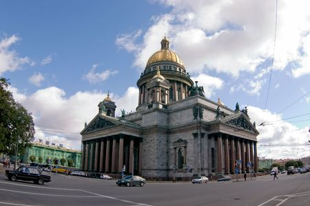 Saint-Petersburg. St. Isaak Cathedral